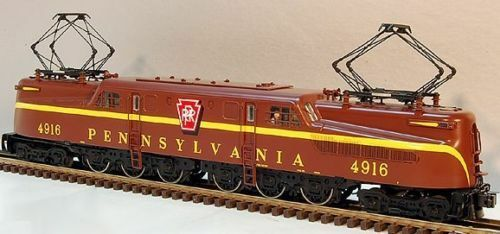 Lionel 18354 JLC Tuscan Single Stripe GG1 Scale PRR Electric 4916