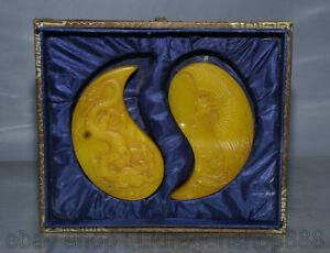 4-4-034-Chine-Tianhuang-Shoushan-sculpture-sur-pierre-Dragon-Phoenix-Seal-Signet
