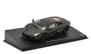 Altaya-1-43-Scale-Lamborghini-Reventon-Matt-Black-2007-Diecast-Model-Car