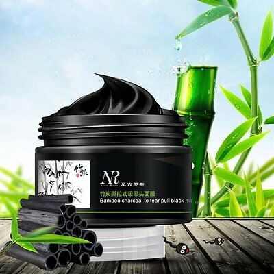 Deep Cleansing Blackhead Pore Cleaner Black Mud Removal Purifying Peel Face Mask