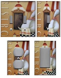 Image Is Loading Bistro Fat Chef Kitchen Home Decor Light Switch