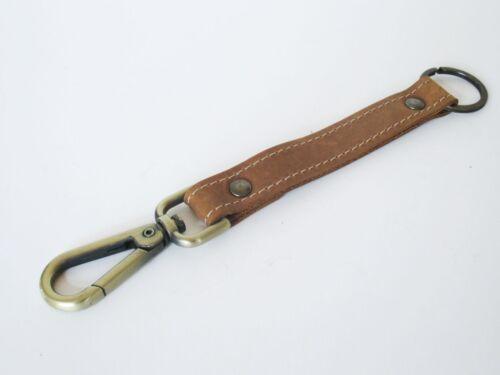 Porte-Clés Porte clés ruban cuir en cuir véritable en Allemagne Fabriqué