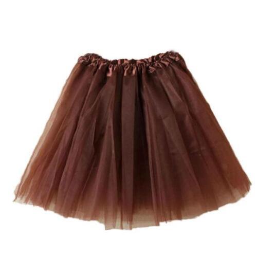 Women Fashion Half-screen Yarn Fluffy Skirt Knee Length Skirt Tutu Prom Dancing