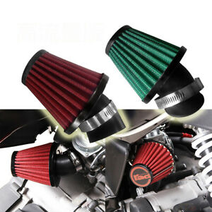 AU-Air-Filter-35mm-for-50-110cc-ATV-Motorcycle-Motorbike-Scooter-Washable-Green