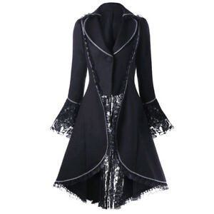Gothic-Lace-Medieval-Jacket-Vintage-Steampunk-Tailcoat-Long-Jacket-Costume