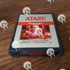 SWORDQUEST-Atari-2600-Cartridge-Only-NTSC-U-C-Tested-amp-Working