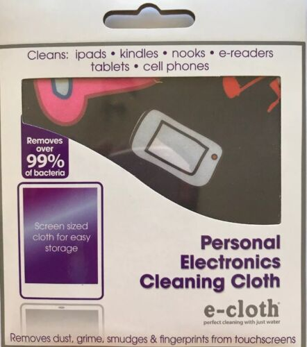 E Cloth Personal Electronics Cleaning Cloth phone laptop computer