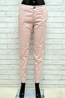Fiducioso Pantalone Diesel Donna Taglia Size 27 Jeans Pants Woman Slim Fit Elastico Rosa Prima Qualità