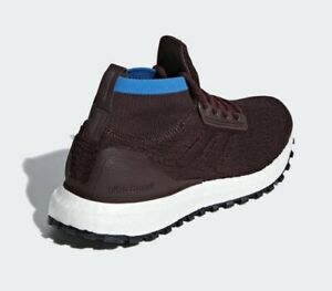 save off a8d5e 64a03 Details about Adidas UltraBoost All Terrain Running Shoes Night Red-Blue  Accent (B43521) Sz 6