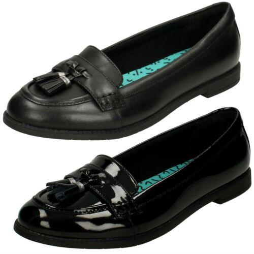 Senior Pijo Edge Clarks Escuela' Niña Zapatos BIwxqxS