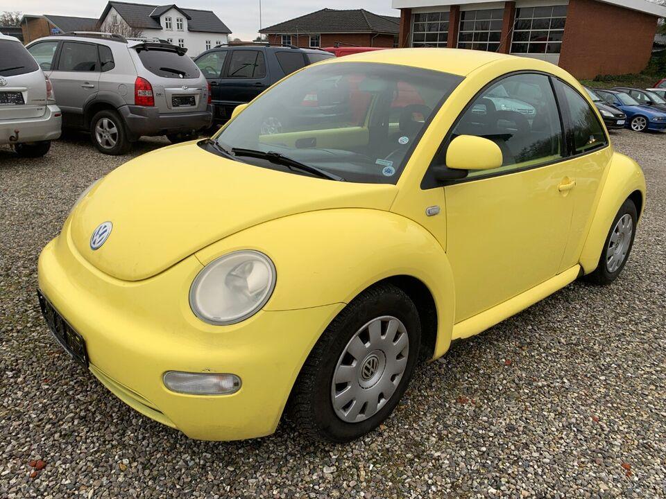 VW New Beetle 2,0 Highline Benzin modelår 2000 km 180000 ABS