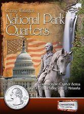 National Park Quarters Album, 2010-2021 P&D (Cornerstone Coin Albums) by Zyrus