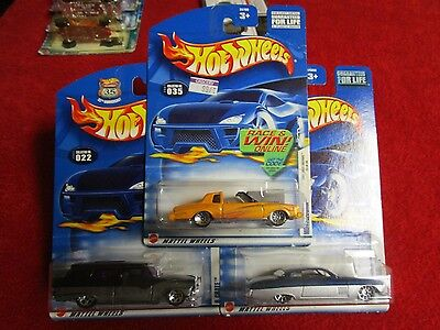Hotwheels 35h Anniversary Montezooma, 8 Crate & Fish & Chip'd