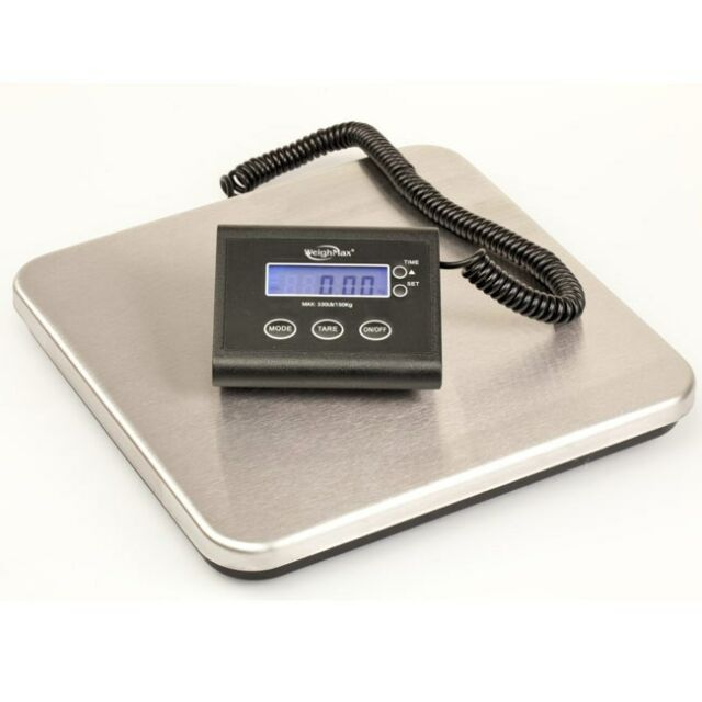 WEIGHMAX 150 Pound # LB INDUSTRIAL DIGITAL SHIPPING Postal SCALE 150 lb