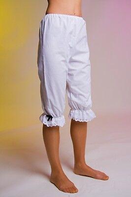 Bellissimo Tessuto Ginocchio Pantaloni Mutande Biedermann Meier Liebestöter Costume Jack Bianco Taglia M-mostra Il Titolo Originale