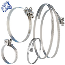 Jubilee Quick Release Captive/FlipLock Strap Clamp Clips MS & Stainless Steel
