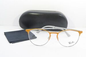 a9ba63ad8b2 Ray-Ban Orange Glasses New with case RB 6375 2949 51mm 740224351907 ...