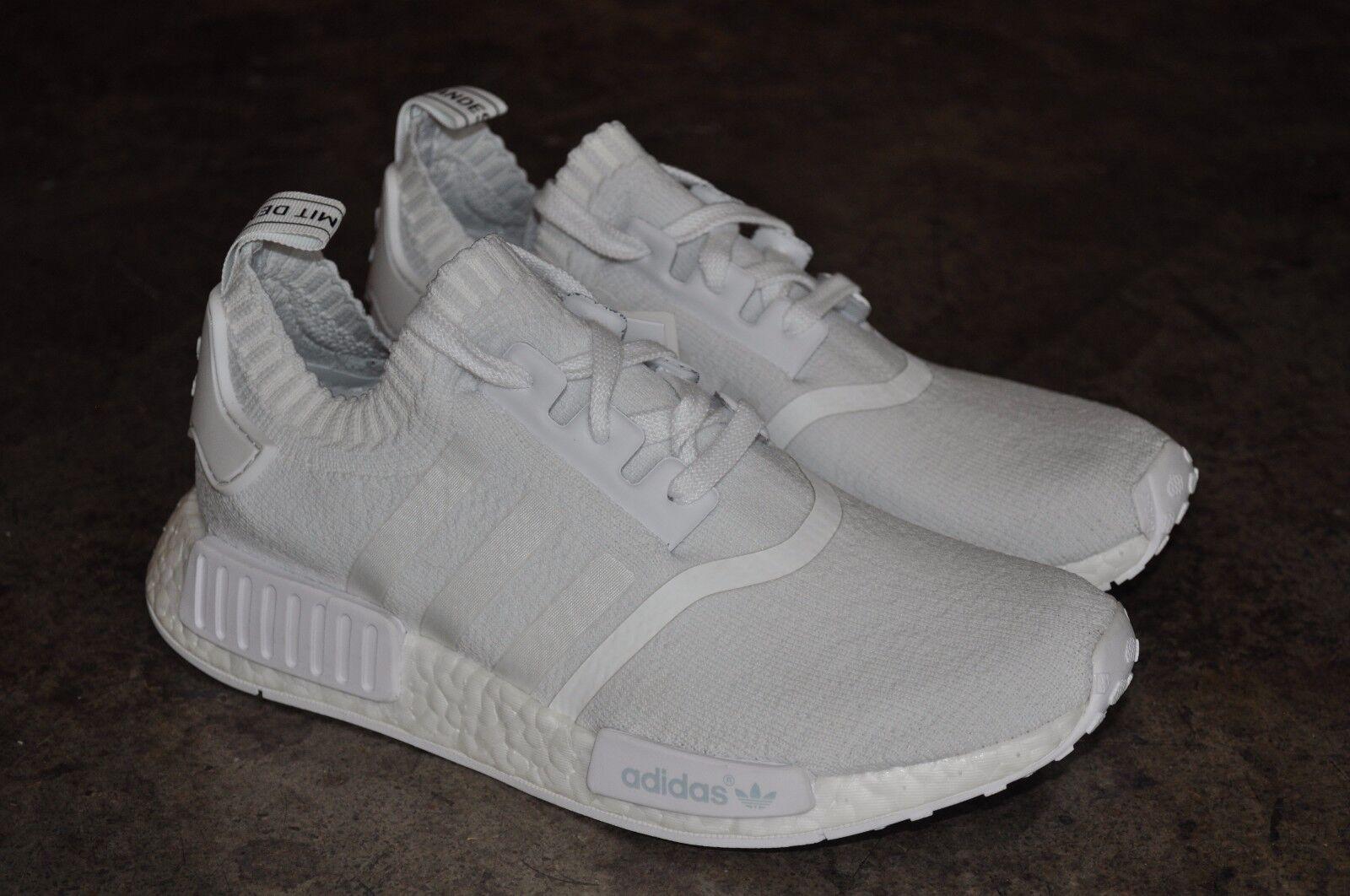 Adidas Adidas Adidas NMD R1 Primeknit  PK Monochrome Pack  Bianco-Bianco Triple Bianco 217e14