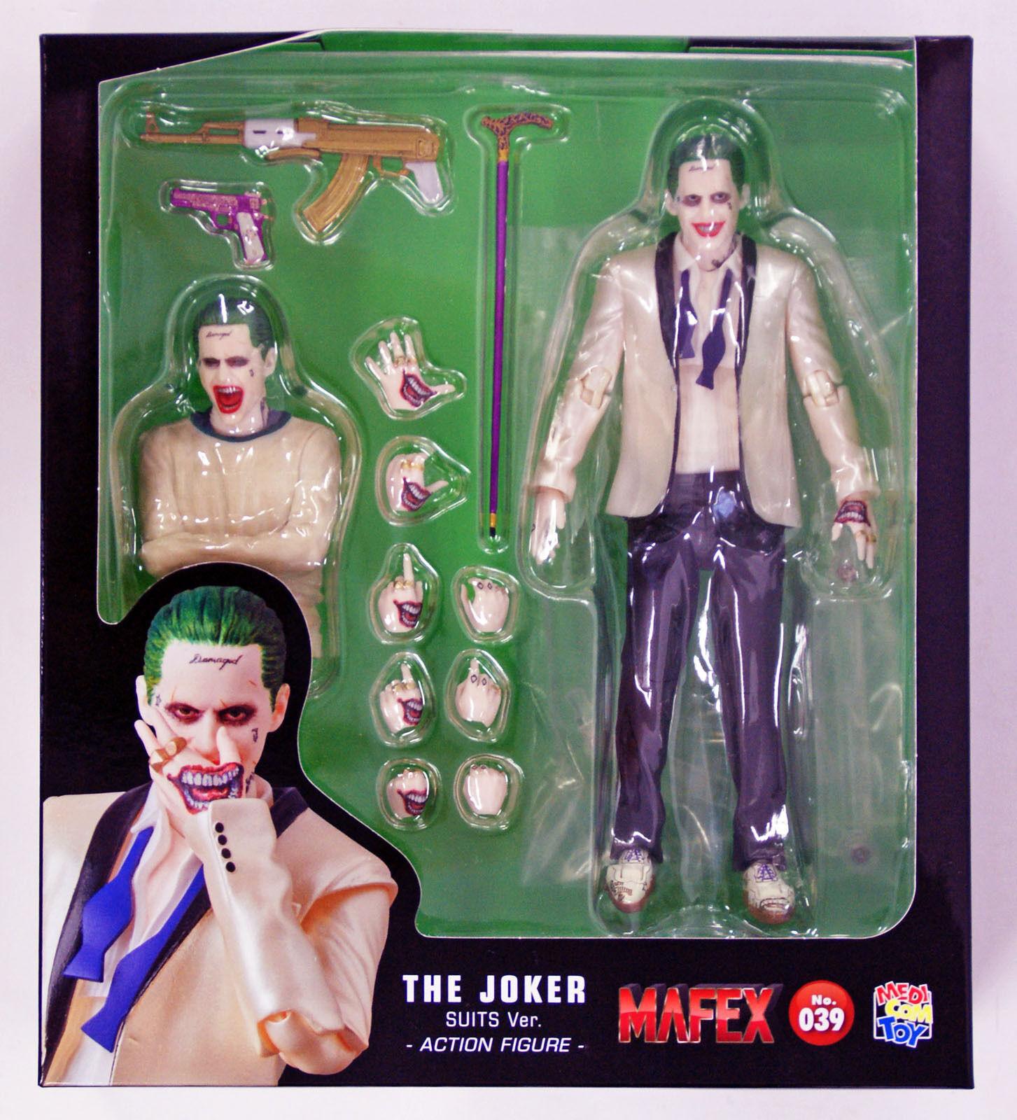 Medicom MAFEX 039 The Joker  Suit Ver. from Suicide Squad Action Figure  approvisionnement direct des fabricants