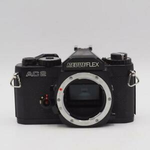 Camera-35mm-Revueflex-Revue-Flex-AC2-SLR-Camera-Body-Chassis-Vtg