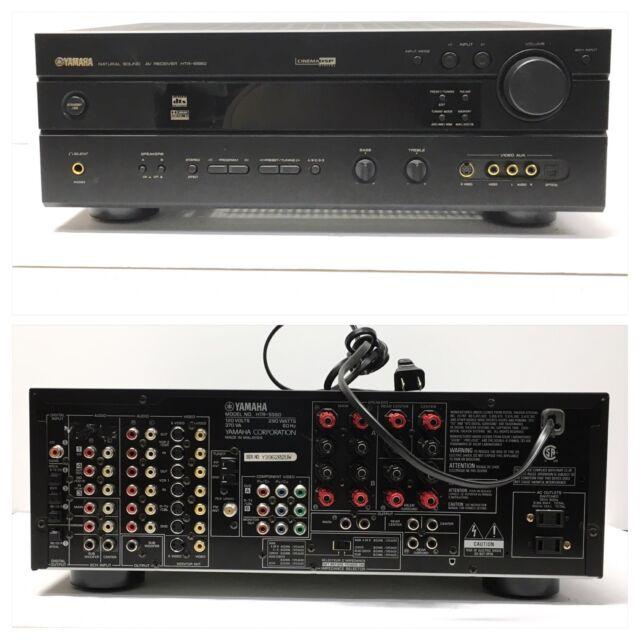 Yamaha HTR 5560 290 Watt Receiver w/ Remote Works Great Bundle