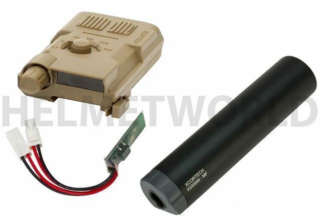 AIRSOFT XCORTECH XCORTECH XCORTECH X3300 TRACER UNIT TORCH BB'S CHRONOGRAPH MOSFET ALL IN 1 TAN 60f6e8