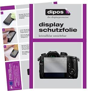 6x-Panasonic-Lumix-DMC-GH5-Protector-de-Pantalla-protectores-transparente-dipos