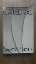 Raymond Carver – Cathedral (1st/1st UK 1984 hb with dw) second UK book