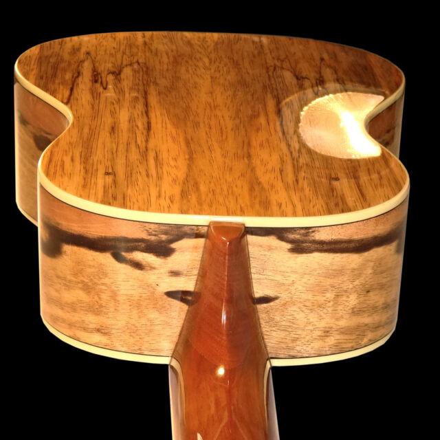 Oscar Schmidt 31-OU78T Custom 8 String Tenor Ukulele Select Spalted Mango Aquila