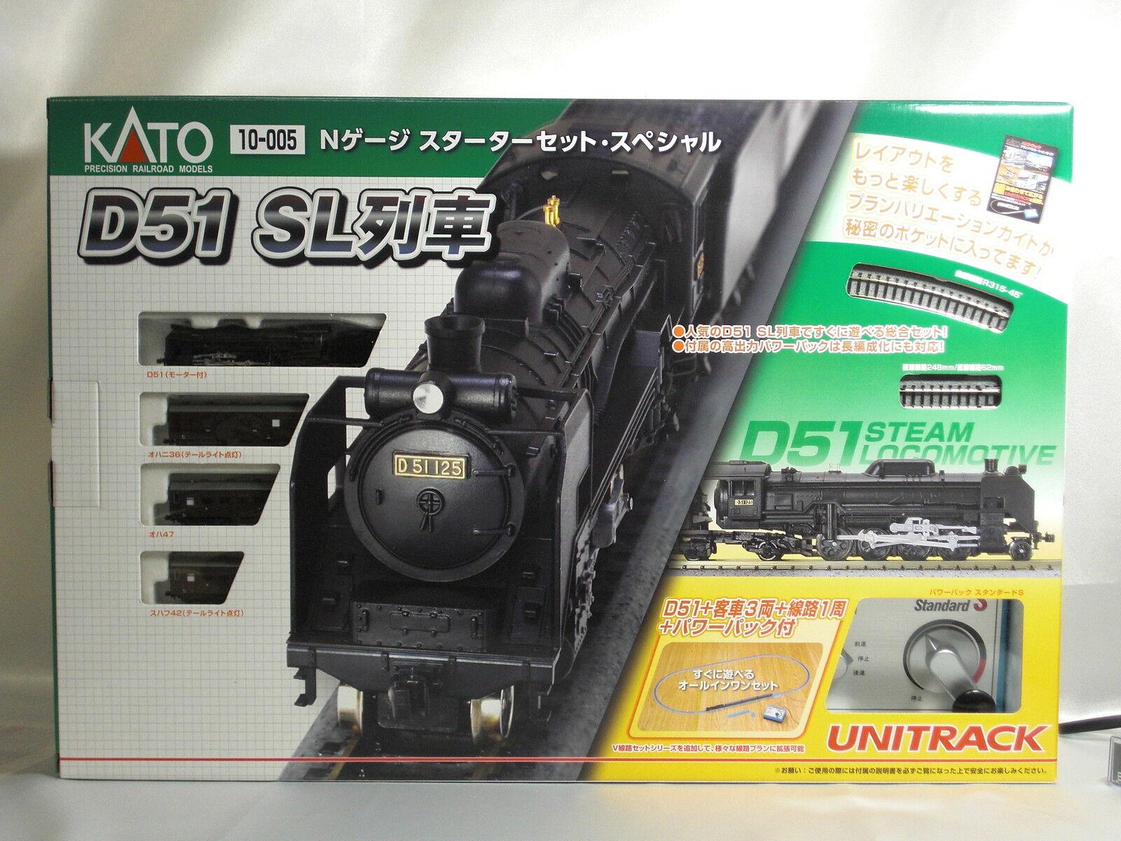 Kato n gauge Sternter set speziell Steam Locomotive 10-005 scale