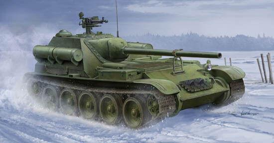 Trumpeter 1 35 Soviet SU-101 SPA