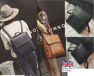 Fashion-Women-Ladies-Quality-Leather-Backpack-Shoulder-Rucksack-Handbag-Satchel