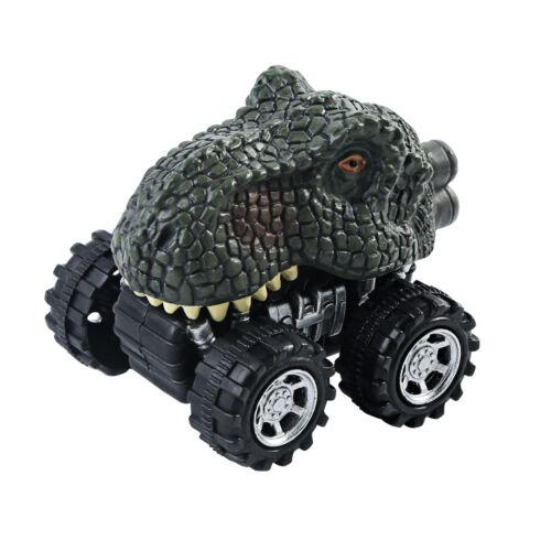 Kids Boys Xmas Thanksgiving Gift Simulation Dinosaur Model Pull Back Car Toy Lot