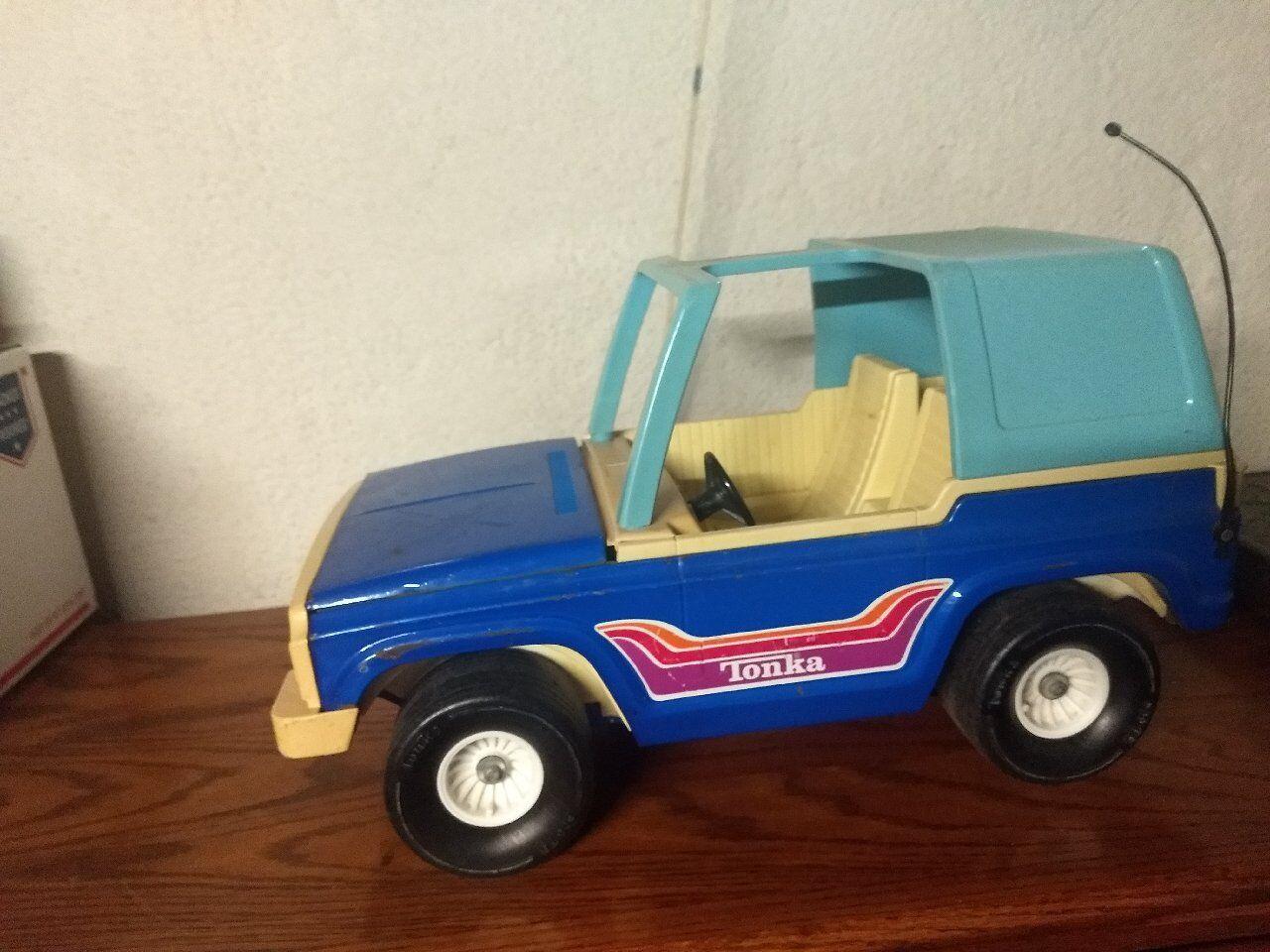 Mächtige tonka bronco   jeep für 12  zahlen