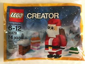 LEGO-30478-Creator-Jolly-Santa-Polybag-74pcs-New