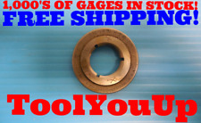 34 14 Nptf Pipe Thread Ring Gage 750 Nptf Inspection Machinist Tooling