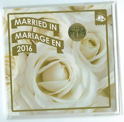 Canada 2016 Wedding Gift Coin Set