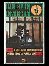 """Public Enemy LP 16"""" x 12"""" Photo Repro Promo Poster"""