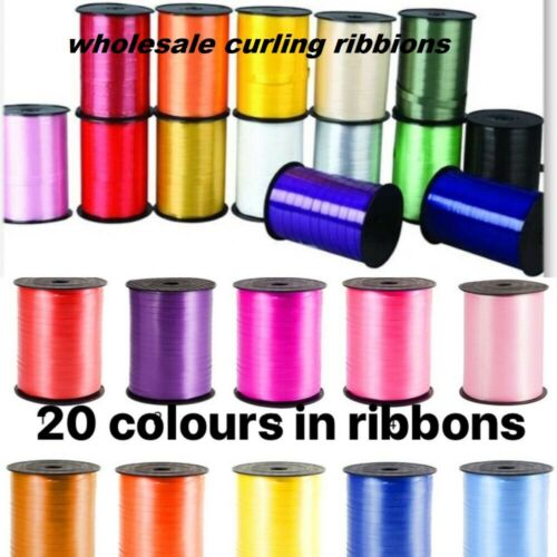 100 meter curling ribbon ribon for decoartion party wedding and any ocassion new