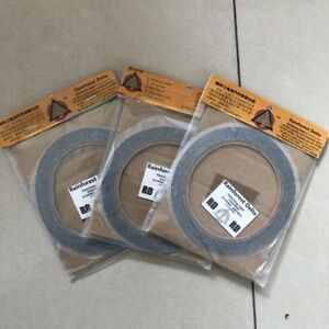 3Rolls Archery Arrow Feather Fletching Tape Glue Fletch Adhesive DIY Tool 10m
