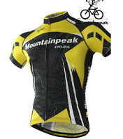 Sports Bike Shirt Cycling Top Bicycle Jersey Outdoor Wear Quick Dry Short Sleeve