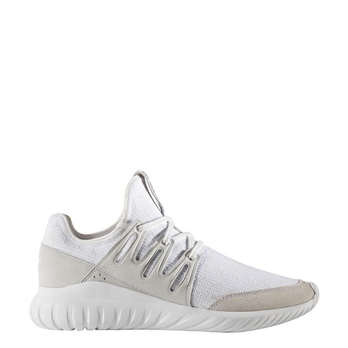 Adidas originali uomini autentico scarpe nuove primeknit radiale tubulare autentico uomini s76714 bianco f58647