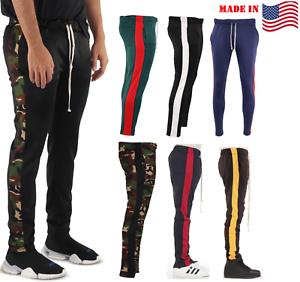 In Skinny Athletic ginnastica Usa Casual da Tapered Made uomo da Gym Slim Pantaloni PUI1gwTgq