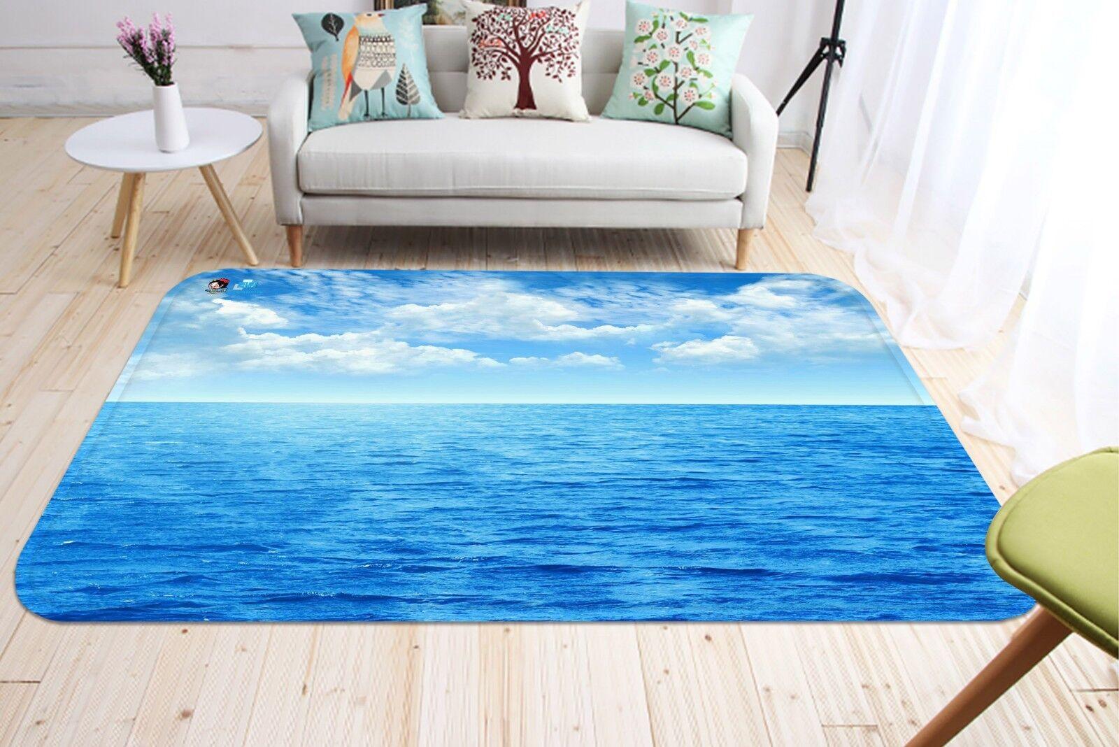 3D Sky Waves Waves Waves Natural65 Non Slip Rug Mat Room Mat Quality Elegant Photo Carpet AU ded0ec