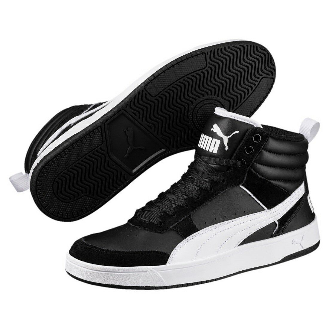 Puma Rebond Street v2 v2 Street MID Chaussures Basket 363715 28da41