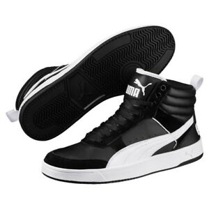 d9962e017974f5 Image is loading Puma-Rebound-Street-v2-mid-Shoes-Trainers-363715