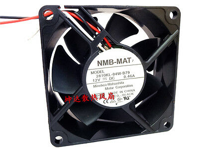 NMB 2810KL-04W-B79 fan 70*70*25mm DC12V 0.46A 3pin