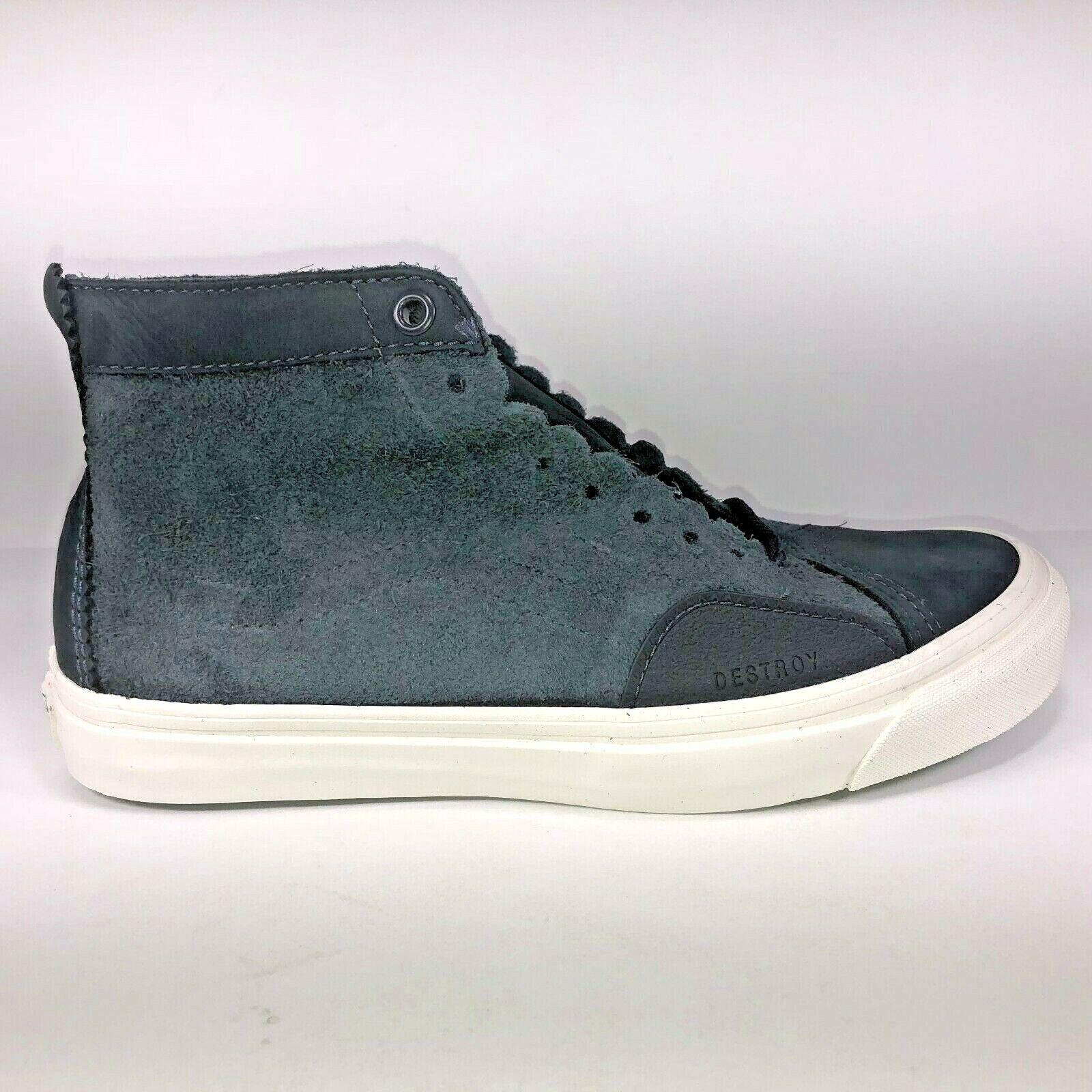 VANS Taka Hayashi SK8 Skool LX Nubuck bluee Graphite Sneaker VN0A38H2N9X Size 8.5
