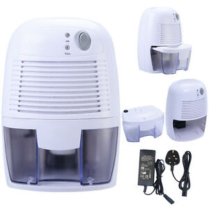 500ml Mini Dehumidifier Air Dryer Damp Peltier Portable Home Bedroom Ce Uk Stock Ebay