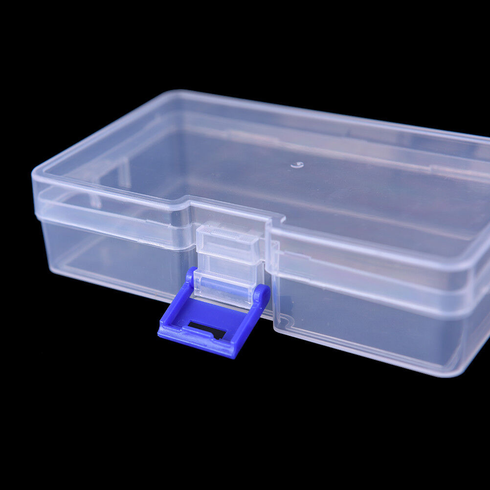 transparent fishing lure tackle hook bait plastic storage box container case NTT